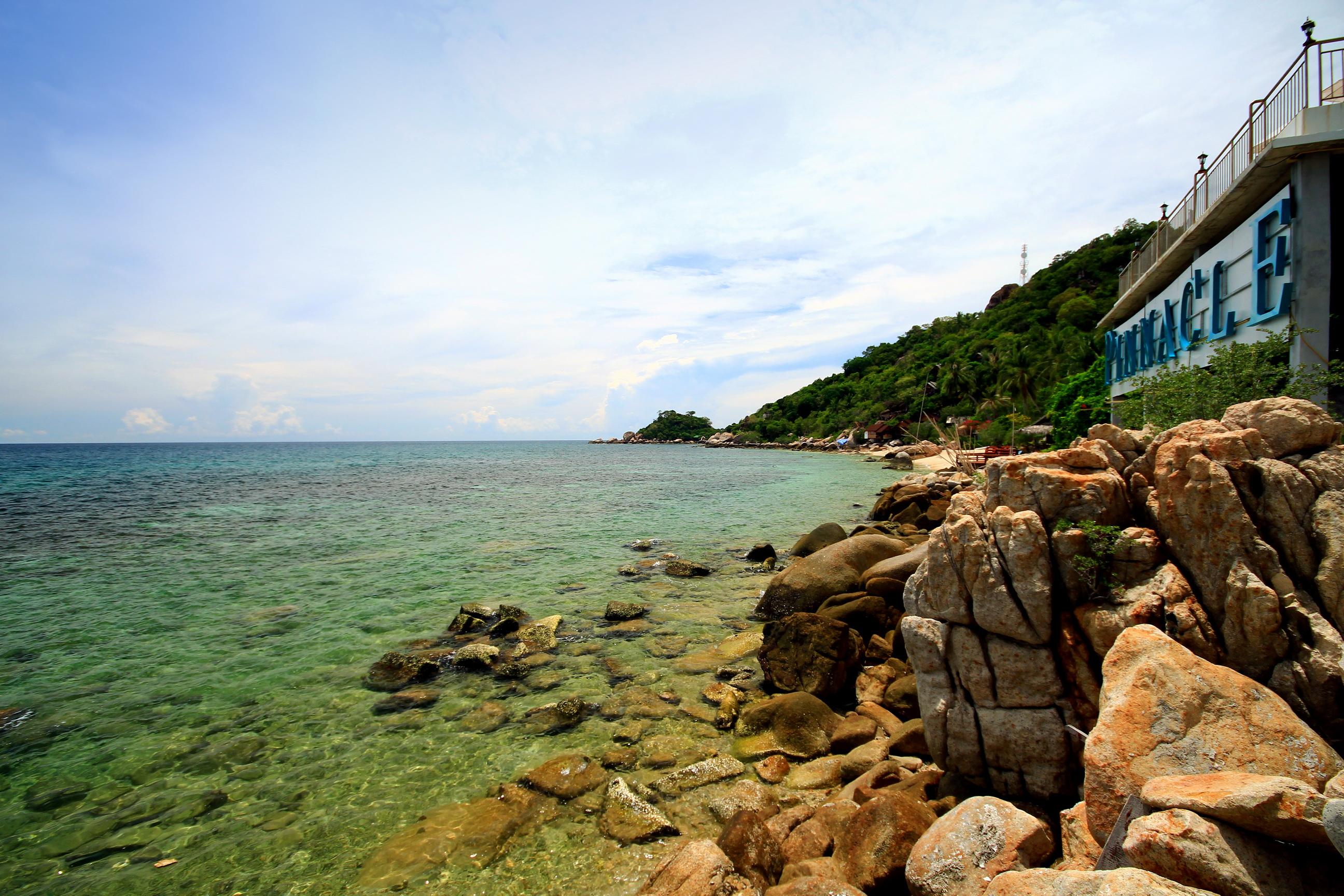 Thajsko pinnacle koh tao dive resort dovolen a ubytov n v thajsku - Ko tao dive resort ...