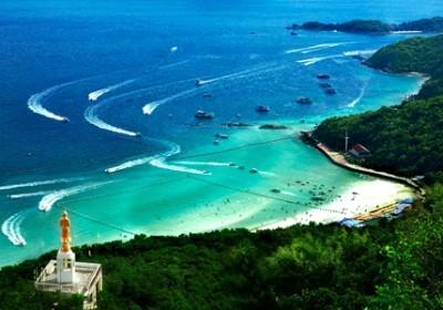 Korálový ostrov (z Pattaya)