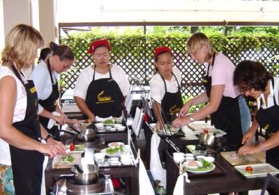 Lekce vaření v Baipai Cookery School