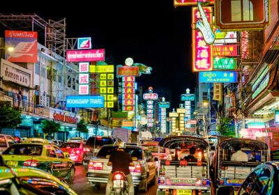 Bangkok a způsob života