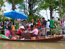 Hua Hin Sam Phan Nam plovoucí trh