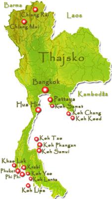 Mapa hlavní strana