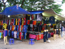 Nakupování v Haad Rin a Thongsala