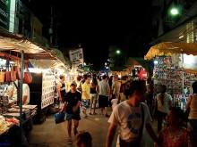 Noční market Hua Hin