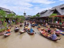 Plovoucí trhy Pattaya