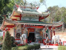 Svatyně Chao Po Koh Chang