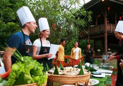 Royal Thai Lekce vaření v Spirit House