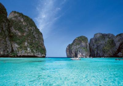 Phi Phi & Kai Island nebo Phi Phi & Bamboo Island (rychlo člun)