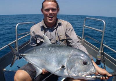 Barramundi rybářský výlet
